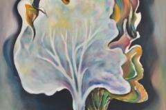 la linfa di due alberi si congiunge in un'alchimia di grande amore, per rappresentare il ritornello antico dell'infinito