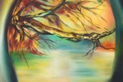 Finestra aperta su uno squarcio spettacolare e miracoloso della natura